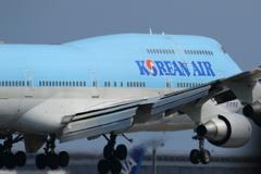 大韓航空 Boeing 間もなく