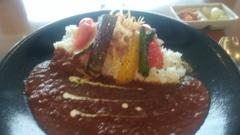 宮崎空港の焼き野菜カレー
