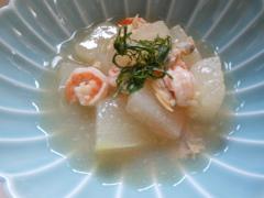 冬瓜と海老の煮物
