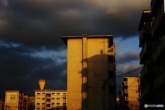 黄昏の給水塔 5