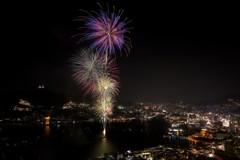 長崎の夜~世界遺産と花火