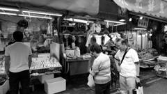 銅鑼灣濕市場