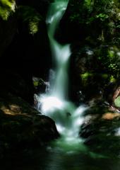 宇津江の滝