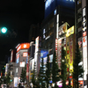 夜の電気街