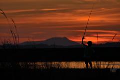 小さな釣り師