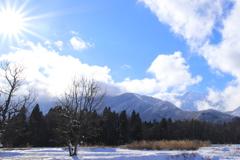 山が冬に変わる時