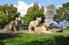 洞爺湖のライオン
