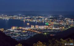 滋賀大津の夜景/横