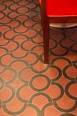 中華料理店の床