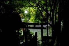 夜の三光稲荷神社②