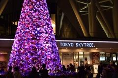 スカイツリークリスマスツリー