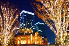 東京駅イルミネーション