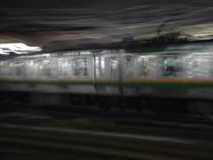 まだ上野東京ラインになる前