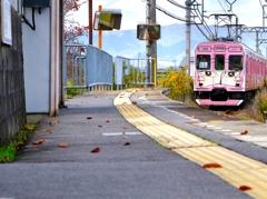 伊賀鉄道 上林駅付近