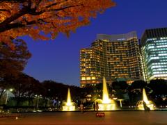 和田倉門からのパレスホテル
