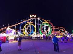 Roller coaster in München