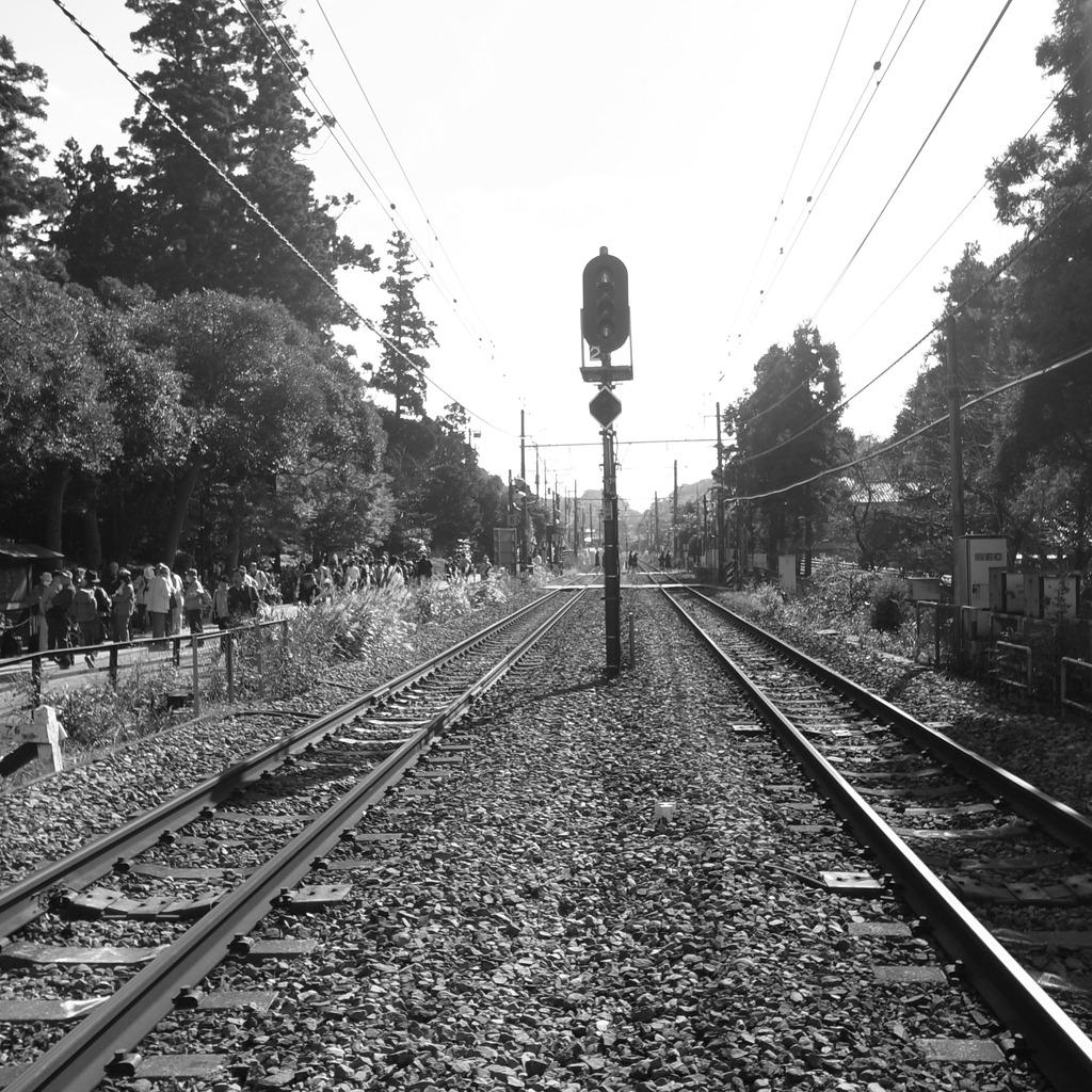 北鎌倉駅付近