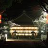 向日神社の夜桜