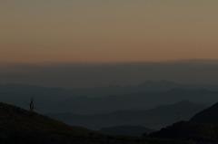 平尾台からの夕景