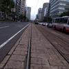 路面電車のある街