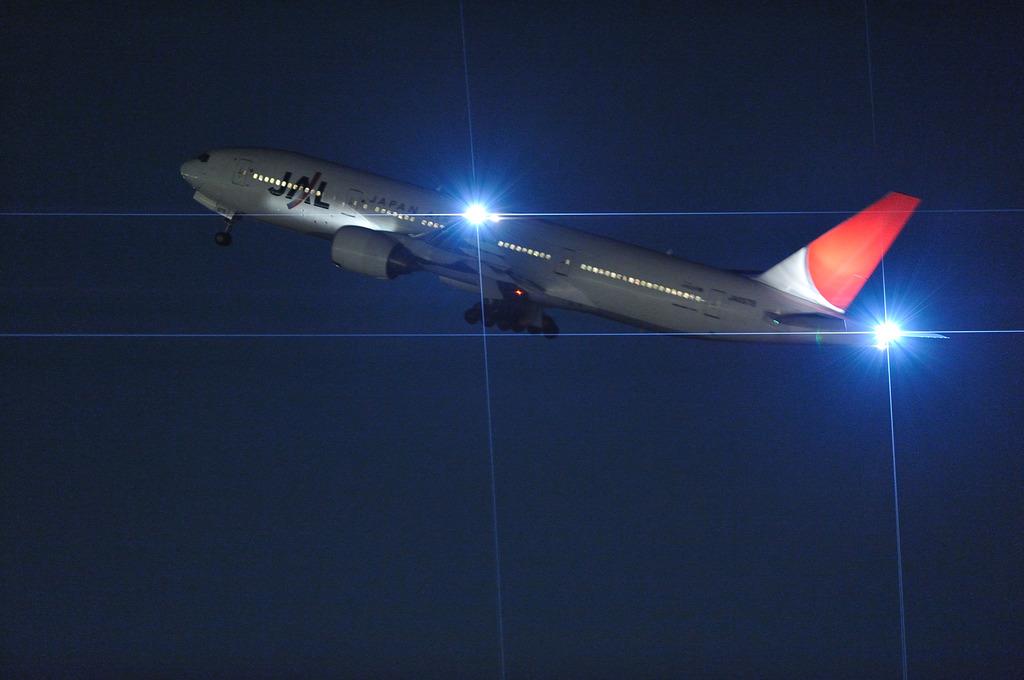 JAL B777-200@羽田空港
