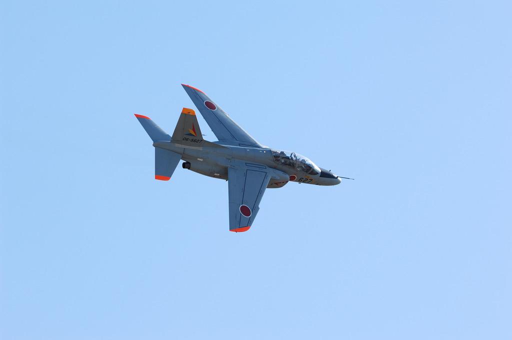 T-4展示飛行@入間