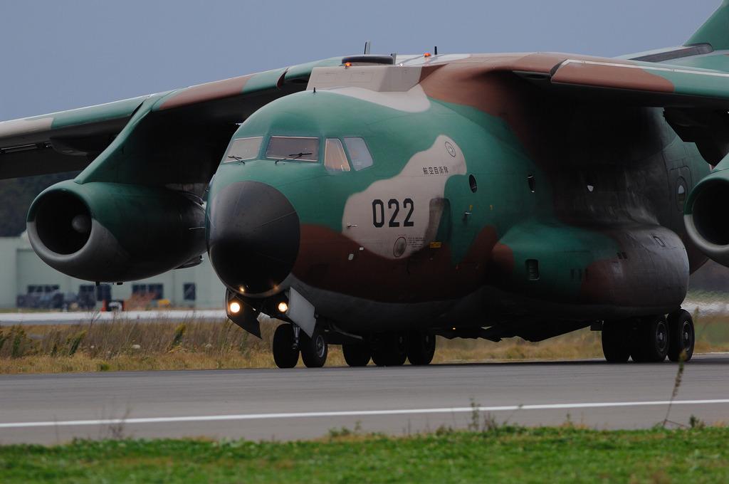 航空自衛隊C-1輸送機