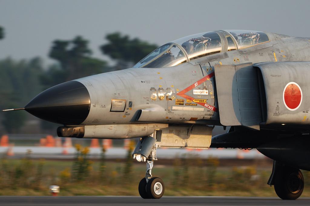 302SQ F-4EJファントム-2@百里