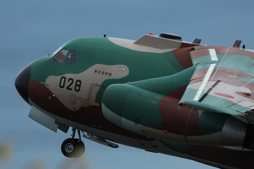 航空自衛隊C-1輸送機@百里