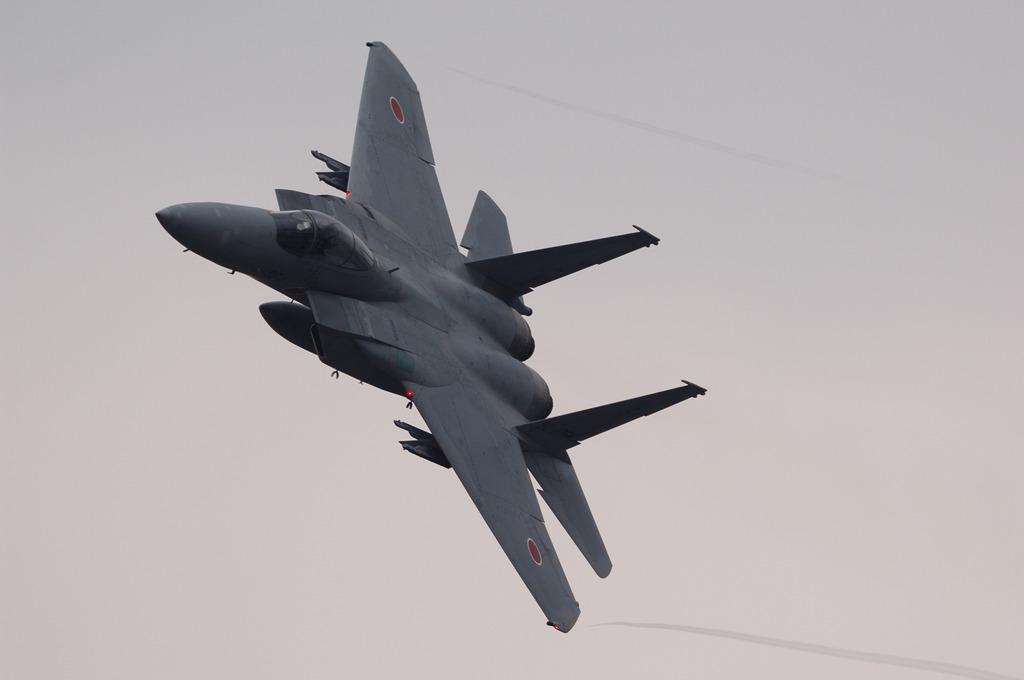 F-15J機動飛行@浜松