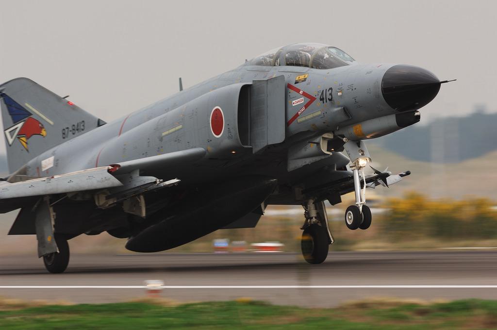 302SQ F-4EJファントム-3@百里