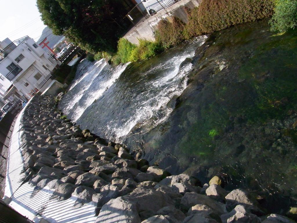 富士宮に流れる神田川