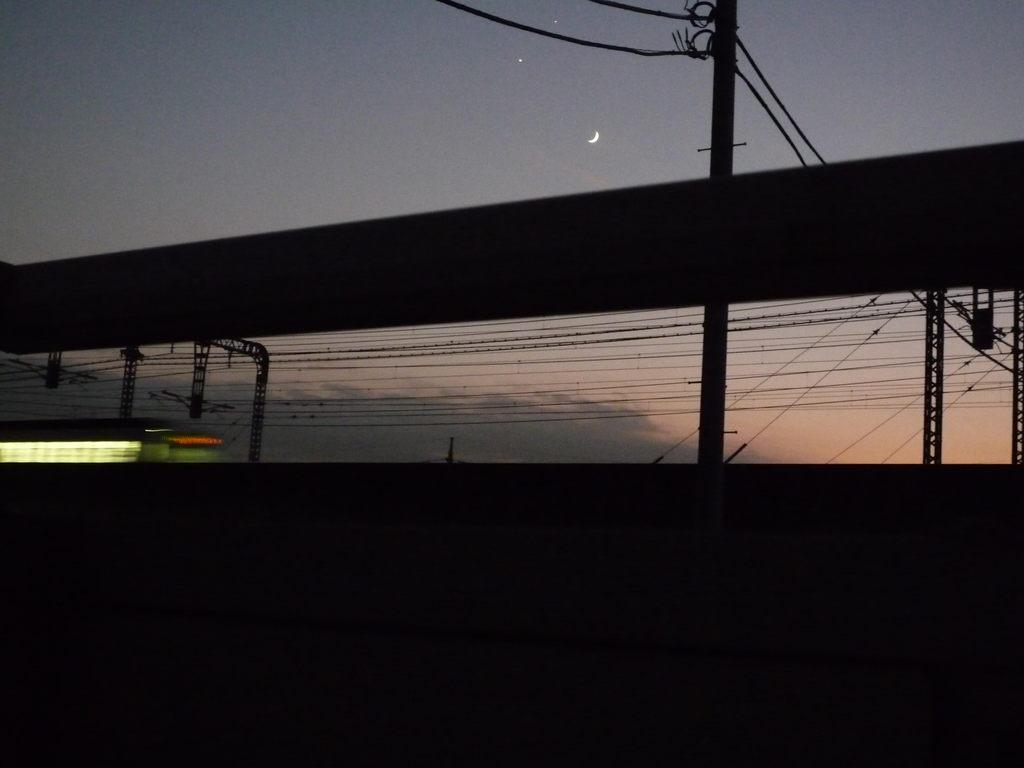 月と星とのスマイリー