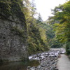 暗門の滝 歩道