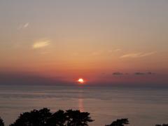 深浦の夕陽