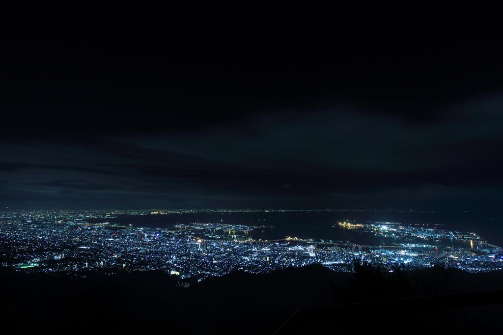 摩耶山からの夜景