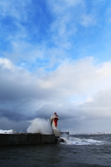 凍える灯台