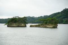 松島島巡り 奇岩群