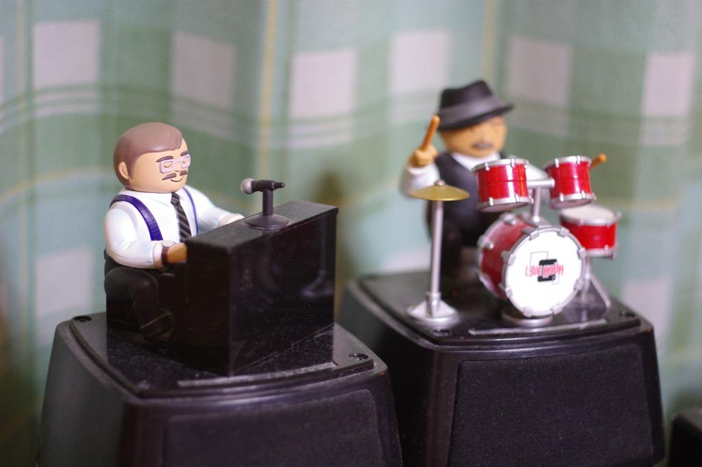ジャズのおもちゃ