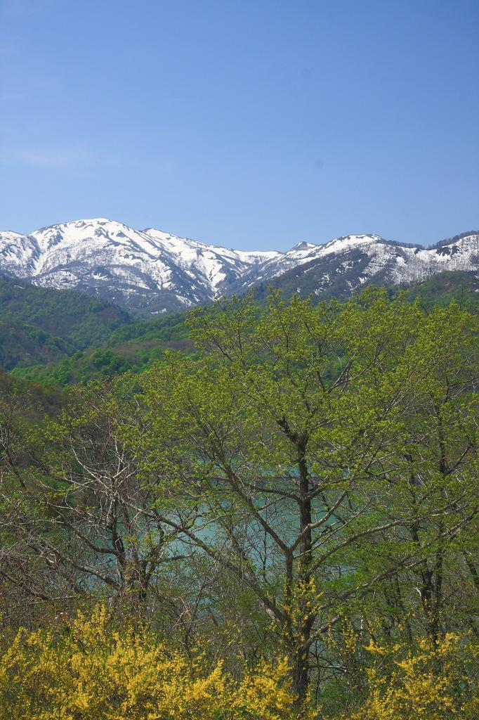 残雪の峰(1)