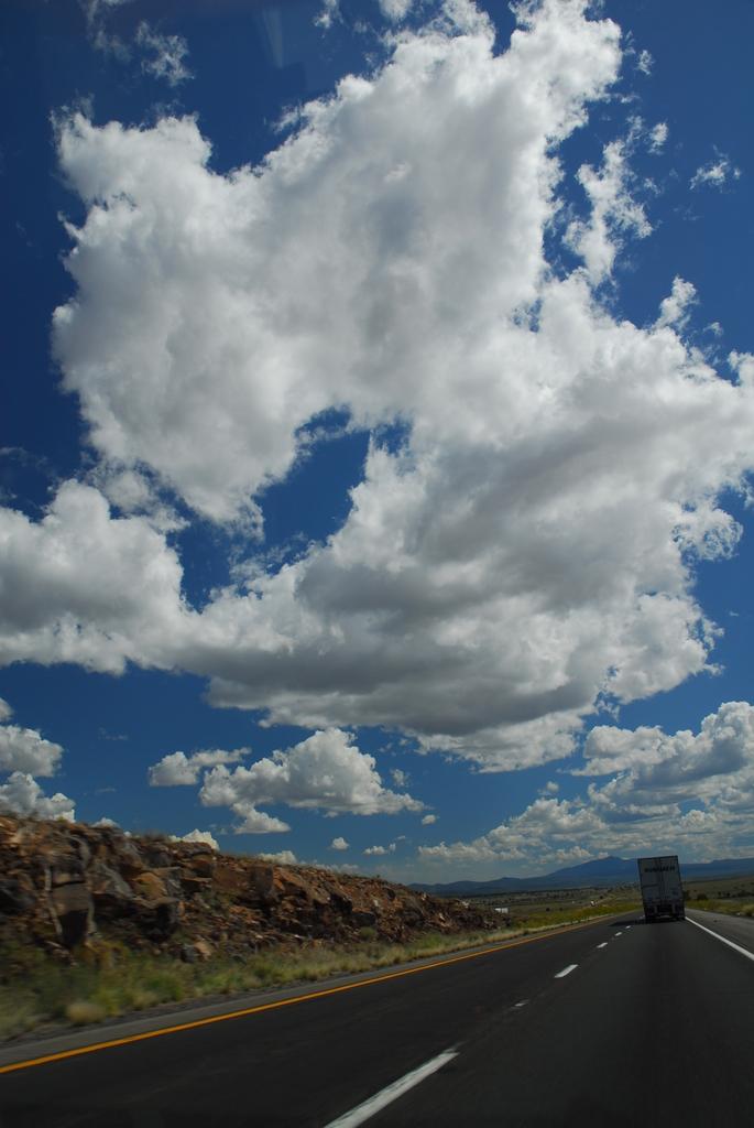 ネバダ州砂漠地帯