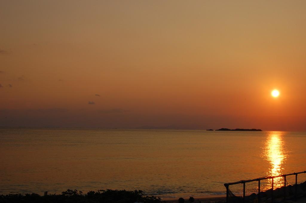 西表島の朝