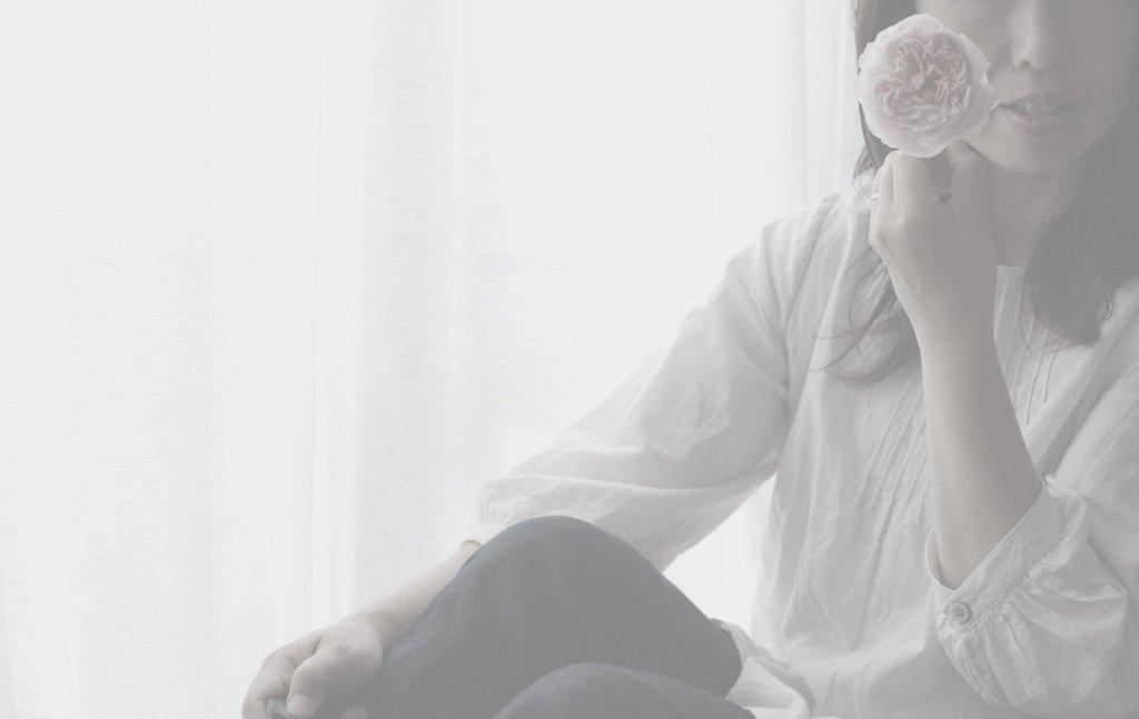 薔薇と私。 in_monochrome