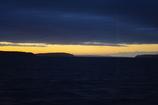 IMGP8252  飛行機からの夕焼け