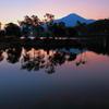 白樺湖・・夜明け前