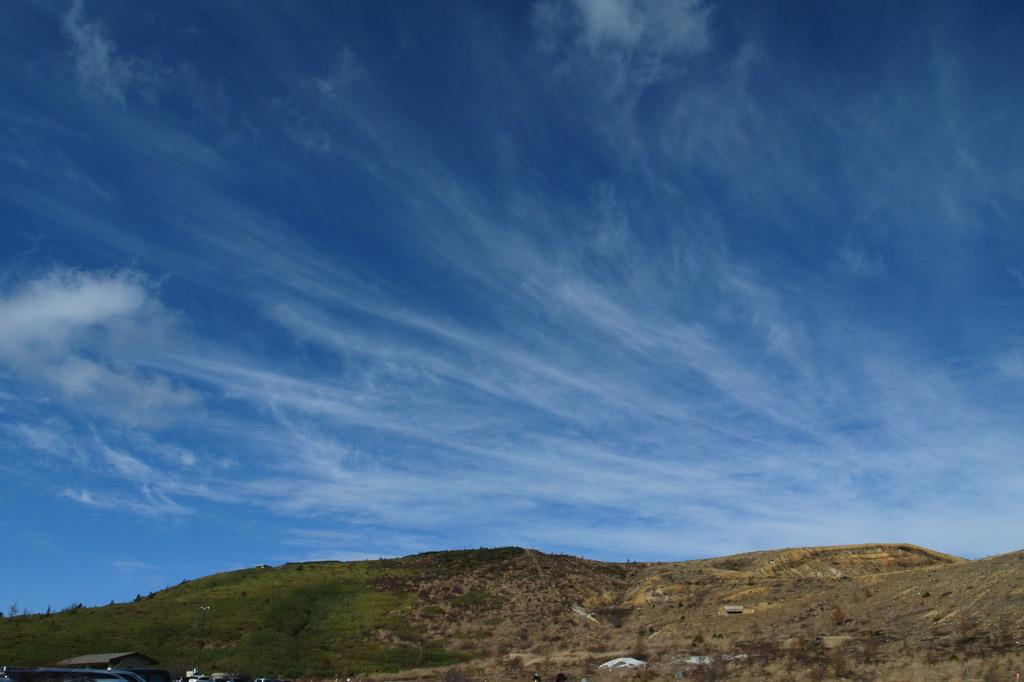 気持ちの良い雲