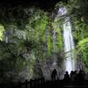 ライトアップ箕面大滝