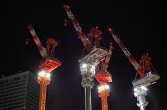 Quartet of crane