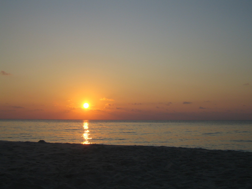 宮古島の夕日