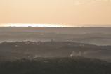 横山展望台の日の出